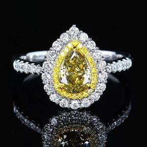 Gorgeous Yellow Gemstone Ring